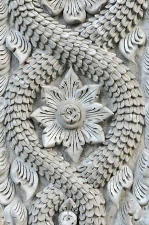 Stone dragon pole photo