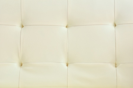white leather upholstery photo