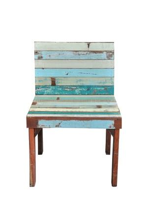 Vintage wood chair photo