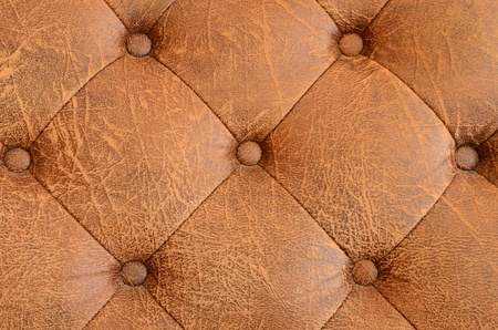 Texture of brown vintage sofa photo