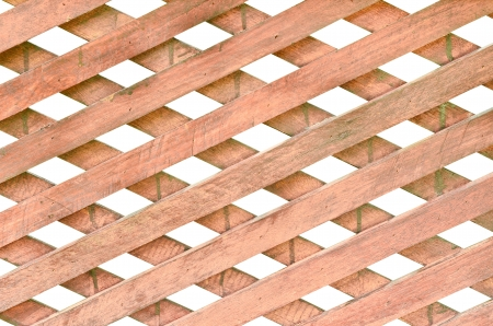Vintage wood fence isolated Stock Photo - 12750908