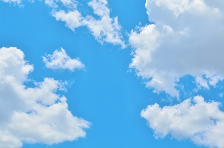 Blue sky with space Stock Photo - 13208403