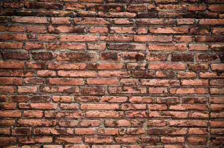 Vintage brick wall background Stock Photo - 13816847