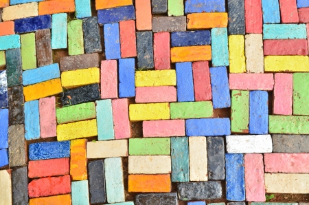 Colorful Brick photo