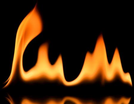 Fire frame photo