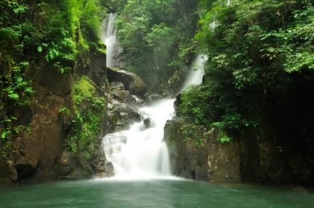 Deep forest waterfall in Chanthaburi, Thailand