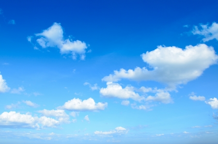 blue sky with clouds Stock Photo - 16714554