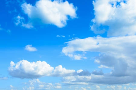 blue sky with clouds Stock Photo - 17009830