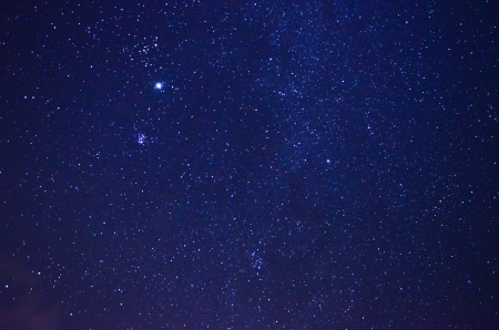 night sky and stars: Night sky with stars