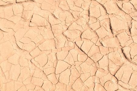 Closeup of dry soil photo
