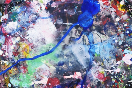 painted background photo