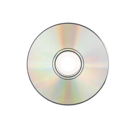 cd rom: CD rom Isolated on white