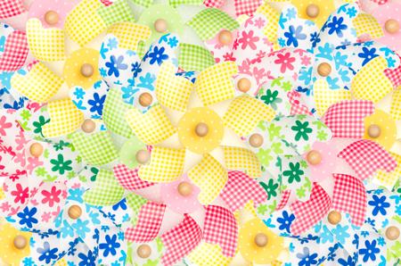 pinwheels: Colorful pinwheels background Stock Photo