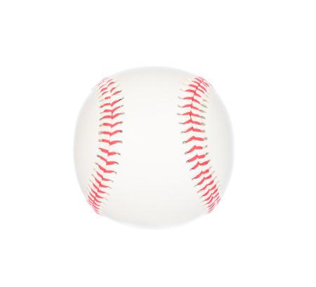 sphere base: Baseball isolated on white background Stock Photo