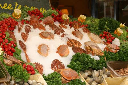 sea food: sea food market place