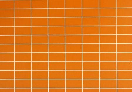 azulejos ceramicos: Azulejos de cer�mica naranjas para cocina o cuartos de ba�o  Foto de archivo