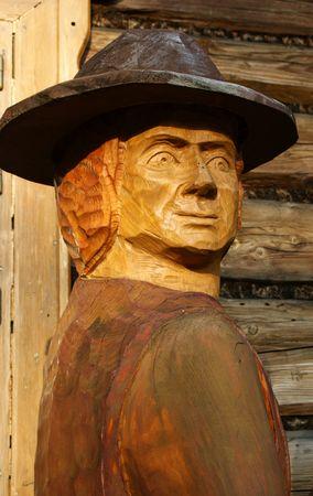 nouse: Sculpture man in hat