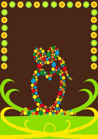 Chocolate love Vector