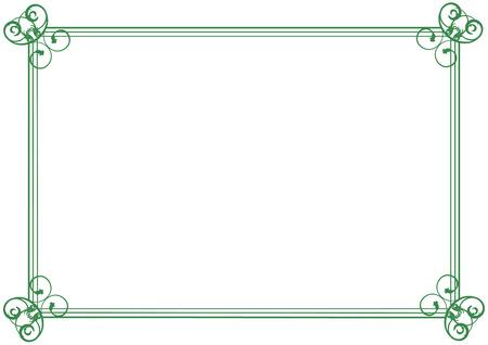 Diploma frame Stock Vector - 6574476