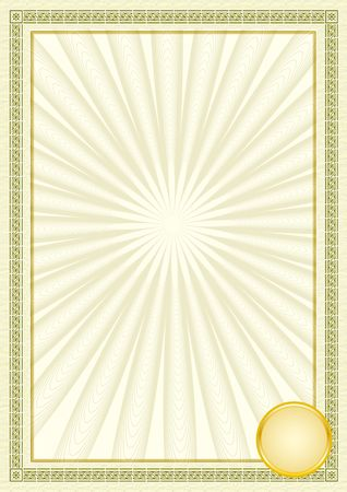 Diploma frame Stock Photo - 6602312
