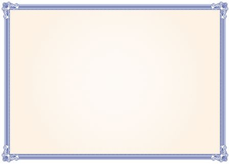 certificate background: Diploma frame