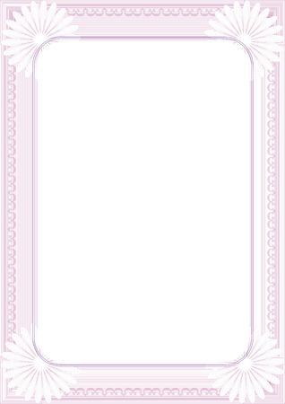 Diploma frame Stock Vector - 6602311
