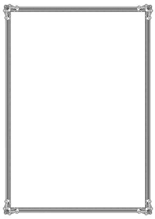 oorkonde: Diploma frame  Stock Illustratie