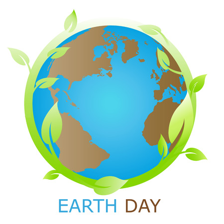 Earth symbol, logo company Vector