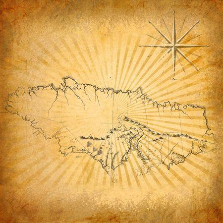 Old treasure map photo