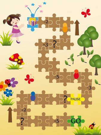 Nice board game for kids photo