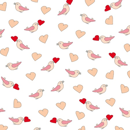 Cute pattern on festive occasion Vector
