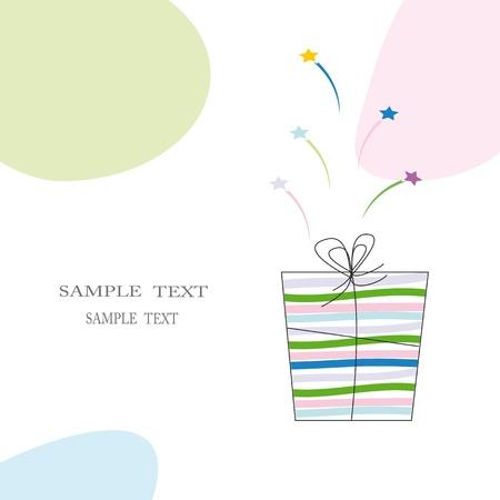 Cute card on festive occasion