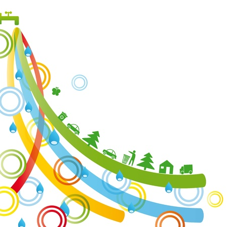 Ecology concept you can use on Earth Day Stock Photo - 9027951