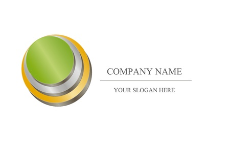 Abstract icon - metalic company design Stock Photo - 9163339