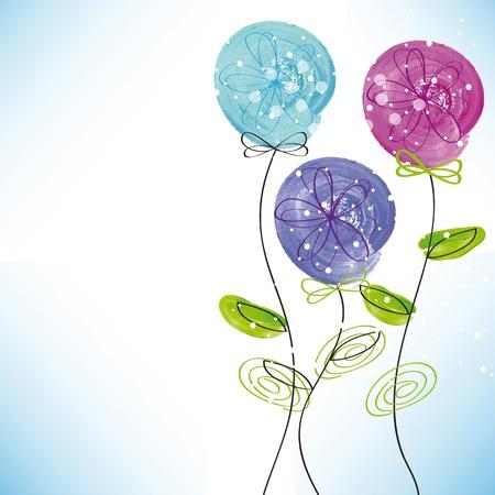 Cute card on festivity occasion Vector Illustration