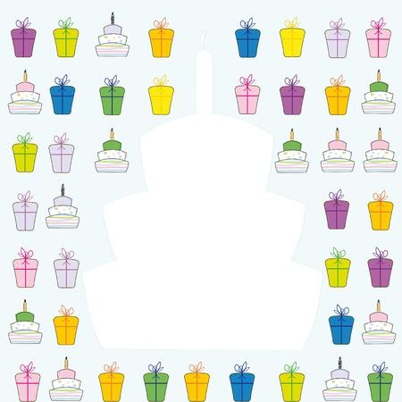 occassion: Cute card on festivite occassion