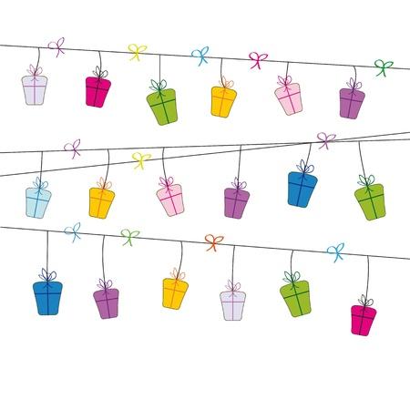 Cute card on festivity occasion Stock Vector - 9601744