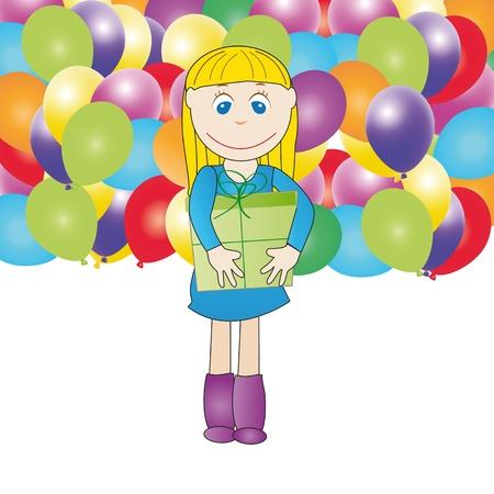 Cute card on festivity occasion Stock Vector - 9717525