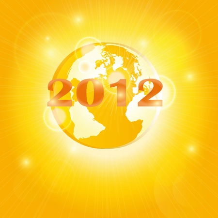 2012 year of the apocalypse Stock Photo - 9768937