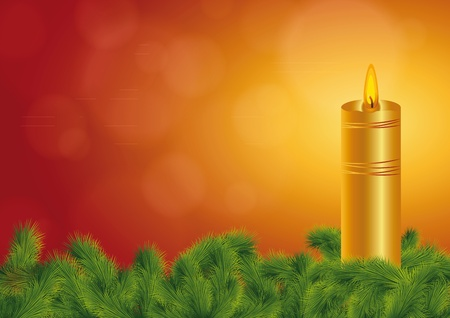 all souls' day: Background on All Souls Day or Christmas Illustration