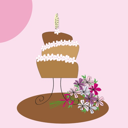 Cute card on special day Vector
