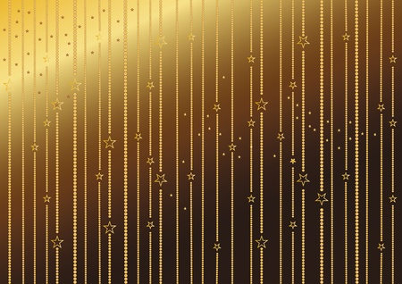 Elegant and gold christmas background Vector