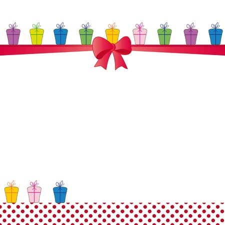 Cute color card on special day Vector