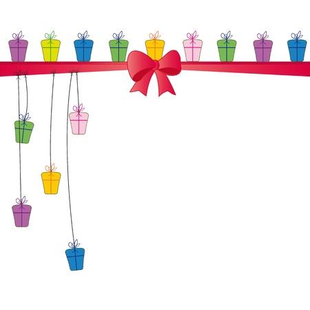 Carta de colores lindo en el día especial
