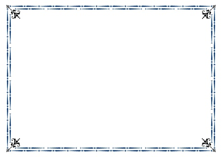 oorkonde: Leuk, eenvoudig frame dat u kunt gebruiken als diploma kader
