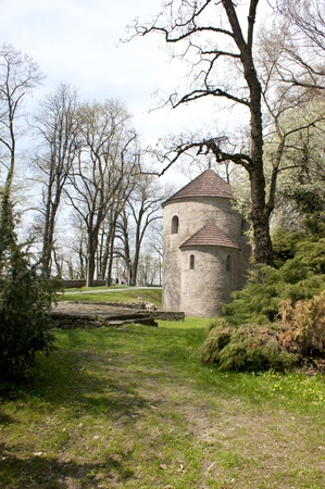 hillock: Rotunda on Castle Hill in Cieszyn Editorial