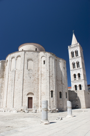 Church St. Donat and Cathedral in Zadar on Croatia photo