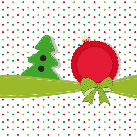 pine needles: Cute and original new card on Christmas
