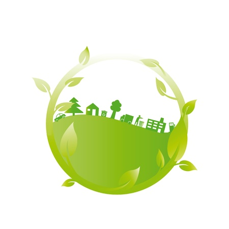 Ecology concept you can use on Earth Day Stock Vector - 15809645