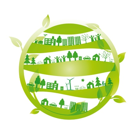 Ecology concept you can use on Earth Day Stock Vector - 15809654